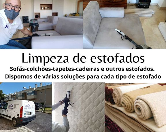 Limpeza de estofados, sofás-colchões-tapetes-alcatifas-cadeiras-pufs