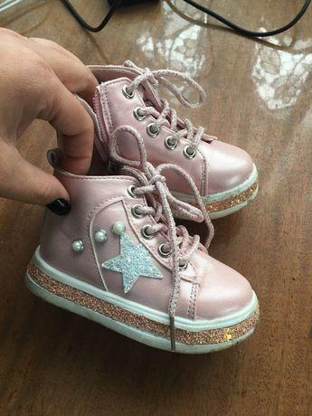 Дитячі черевички. Хайтопи