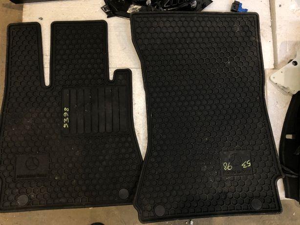 Коврики резиновые Mercedes W221 S Class оригинал килимки резинові