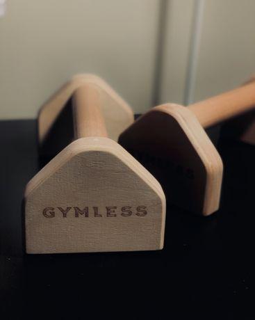 Paraletki drewniane do treningu w domu
