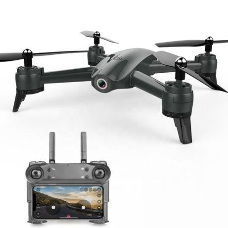 Квадрокоптер RC S165 Black с 4К Ultra HD и HD камерами, FPV, до 20 мин