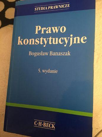 ksiązka Prawo Konstytucyjne