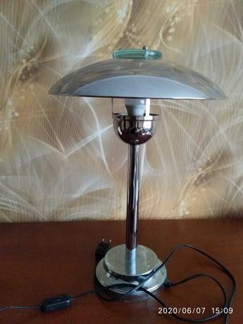 Lampa stojąca na biurko - metal