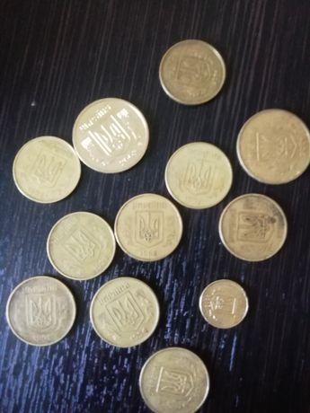 Продам монети 1992р 1994р 2001р