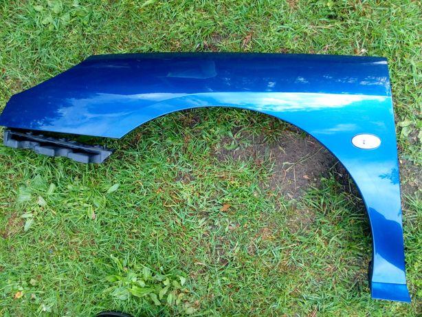 Peugeot 407 błotnik lewy przód kolor KPLC oryginał demontaż