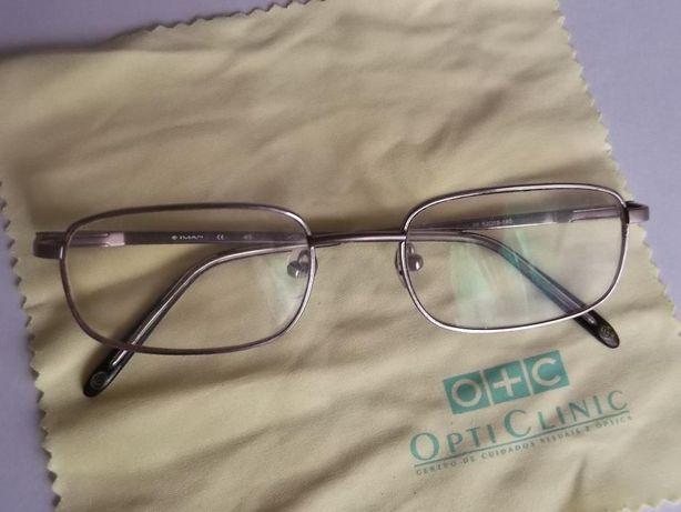 dois pares de oculos versage para leitura/senhora
