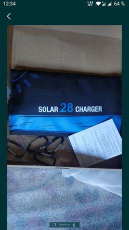 Портативная солнечная панель 28W !
