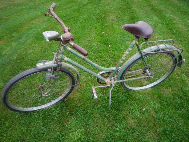 Zabytkowy rower Olimpia