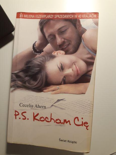 Książka PS p.s. kocham Cię cecelia ahern