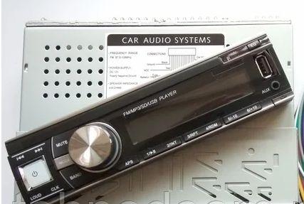 Универсальня Автомагнитола pioneer Usb Sd Fm Aux пульт
