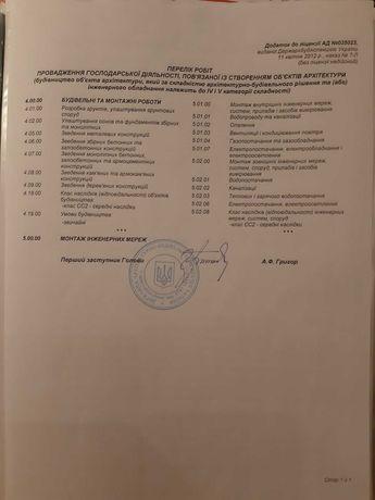 продажа ООО с строительной лицензией СС2