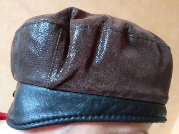 Продам кожаный женский берет
