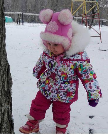 Теплый костюм комбинезон зима Kiko Кико