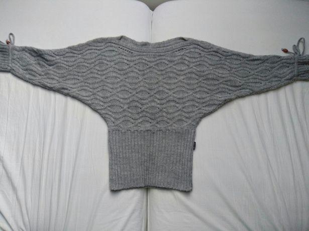 Sweterek S/M kolor szary