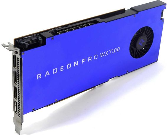 Placa gráfica AMD Radeon Pro WX7100 8GB HEVC H.265