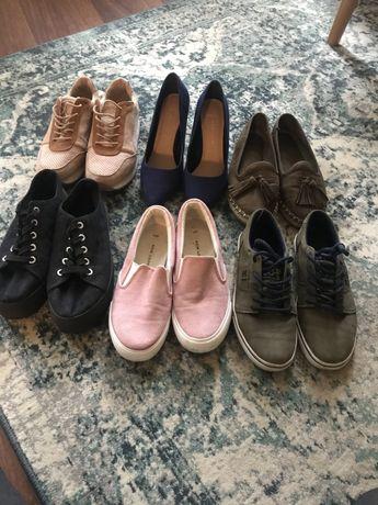 Zestaw butów 6 par