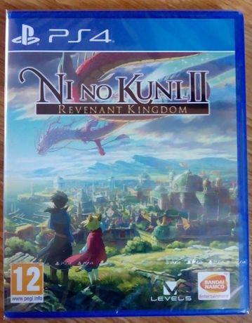 Ni No Kuni II PS4 nowa w folii - sprzedam