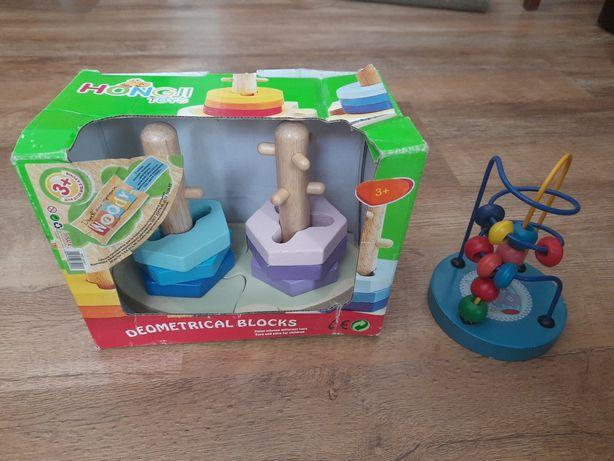 Деревянные развивающие игрушки цена за 2 ед.
