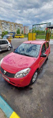 Аренда авто КИЕВ Dacia Sandero 1.4 газ 2500 неделя
