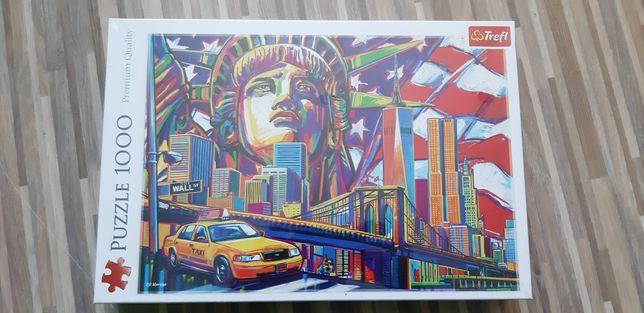 Puzzle 1000 Kolory Nowego Jorku Trefl Nowe