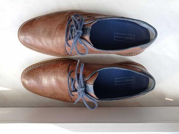 Туфлі чоловічі Fretz men шкіра Gore-Tex / туфли мужские кожа
