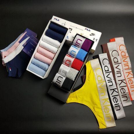 Женские Трусы стринги 5 шт Calvin Klein качество люкс