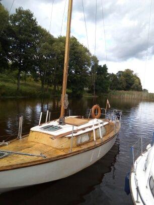 Jacht Żaglowy Mazur