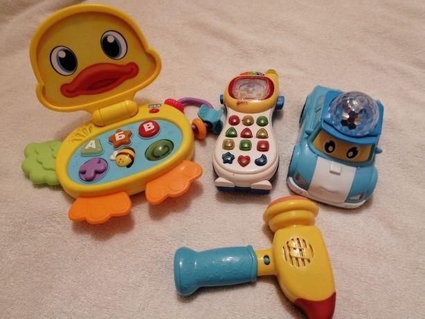 Детские игрушки с 1-2 лет