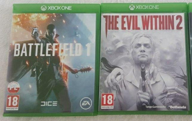 Battlefield 1, Evil within 2,