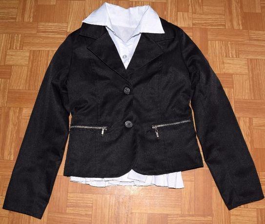 Пиджак школьный р.134