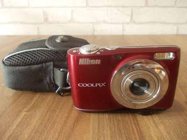 Nikon Coolpix L22 12Mpx + futerał + karta SD 2GB