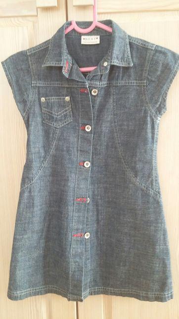 Sukienka jeansowa NEXT r. 116