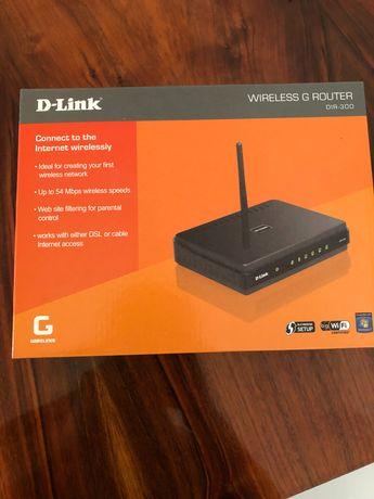 Bezprzewodowy router D-Link DIR-300