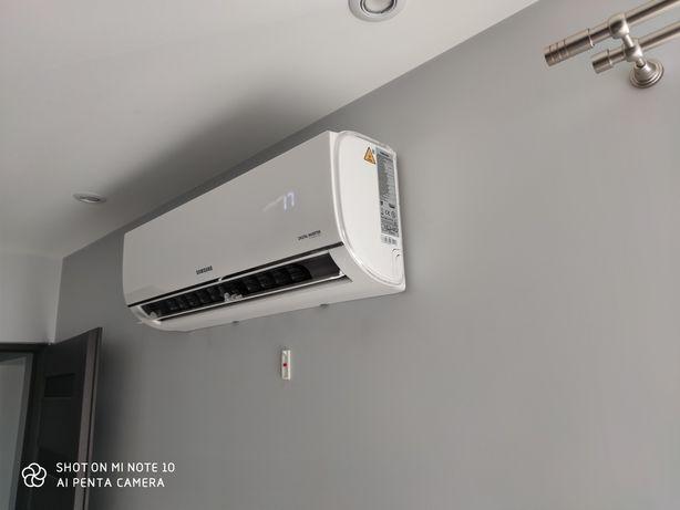 Klimatyzacja Samsung 3,5 kW z Montażem  ,Szybka realizacja zleceń