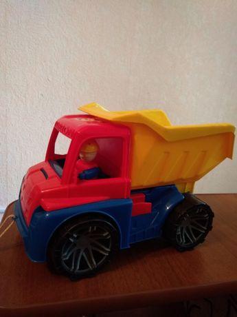 Самосвал, грузовик, машинка