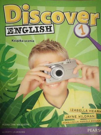 Discover English 1. Książka ucznia.- TANIO