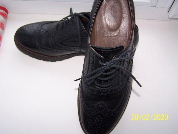 Новые Италия Кожа туфли оксфорды