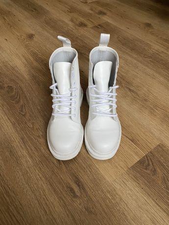 Ботинки Dr.martens mono white 1460 оригинал
