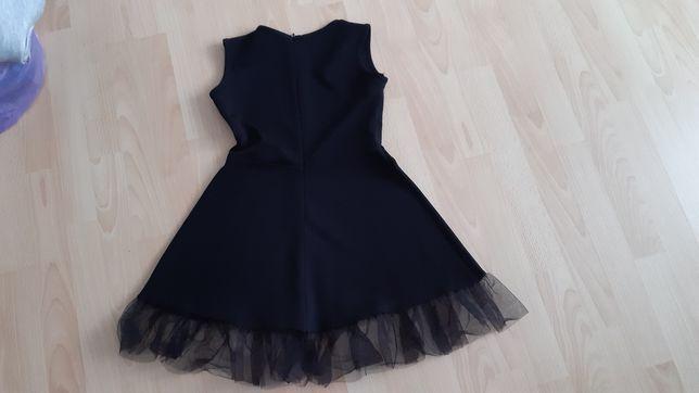 Sukienka czarna na galowo rozm.134