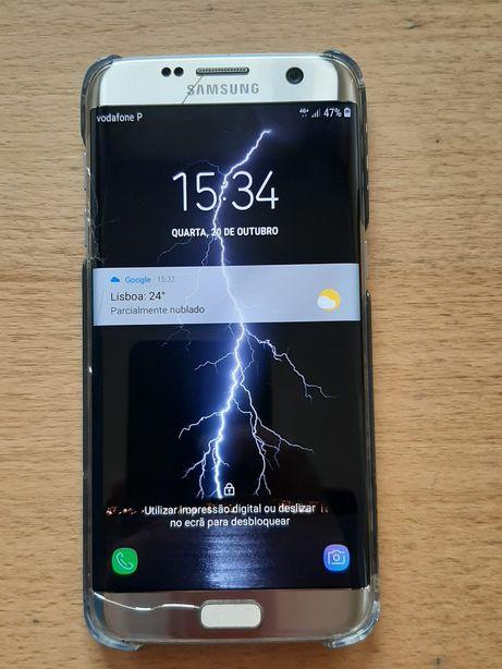 Samsung S7 Egde Gold 32gb + 32 Gb livre
