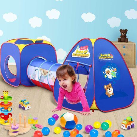 Tenda e túnel para crianças