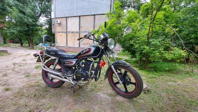Мотоцикл Sabur 150 кубов. Сел поехал!