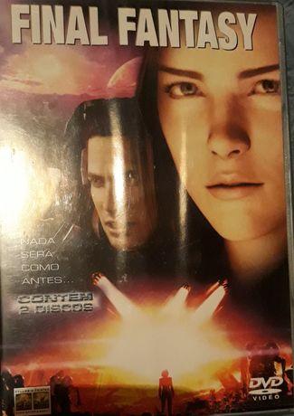 DVD Final Fantasy Edição Especial 2 Discos