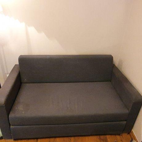 Sofa 2 osobowa rozkładana używana - ważne do soboty 23.01.2020