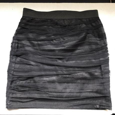 Mini Saia em tule preto tamanho 34 Blanco Nova - ÚLTIMO preço