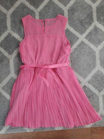 Sukienka plisowana rozm. 134-140