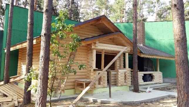Деревянные, срубы.Каркасно-щитовые дома .бани сауны под ключ