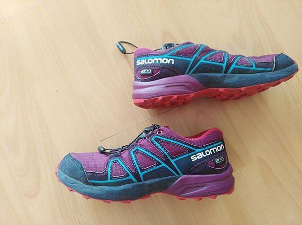 SALOMON buty trekkingowe dziecięce rozmiar 32