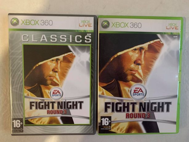 2x gra XBOX 360 - Fight Night Round 3 + Fight Night Round 3 Classics