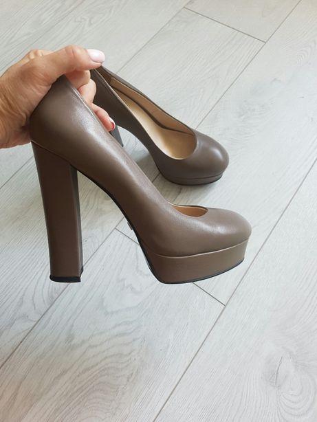 Продам туфли из натуральной кожи размер 38